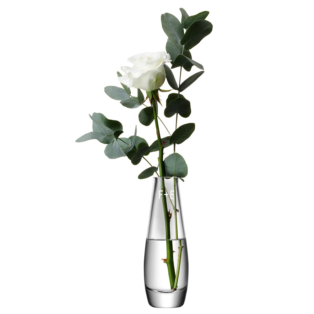 LSA Monogrammed Single Stem Vase - treat-republic