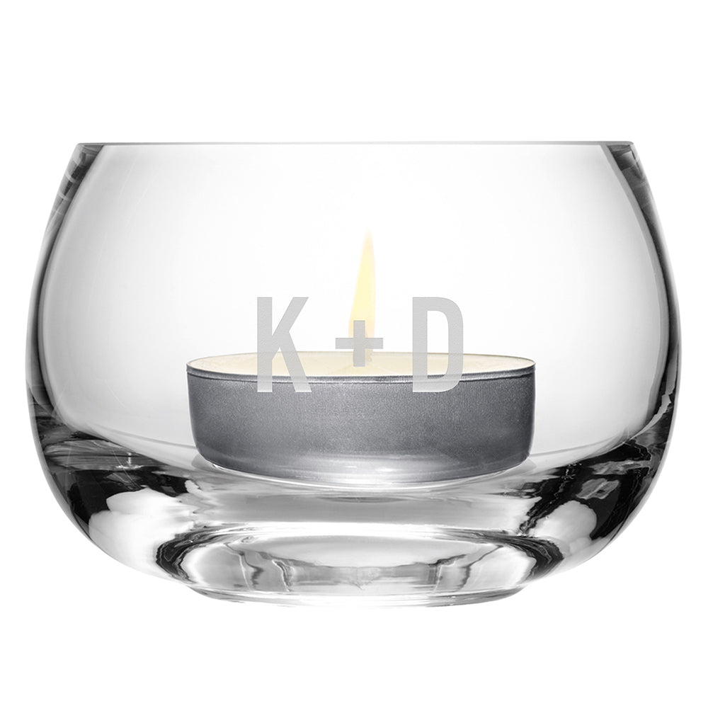 LSA Monogrammed Tealight Holder - treat-republic