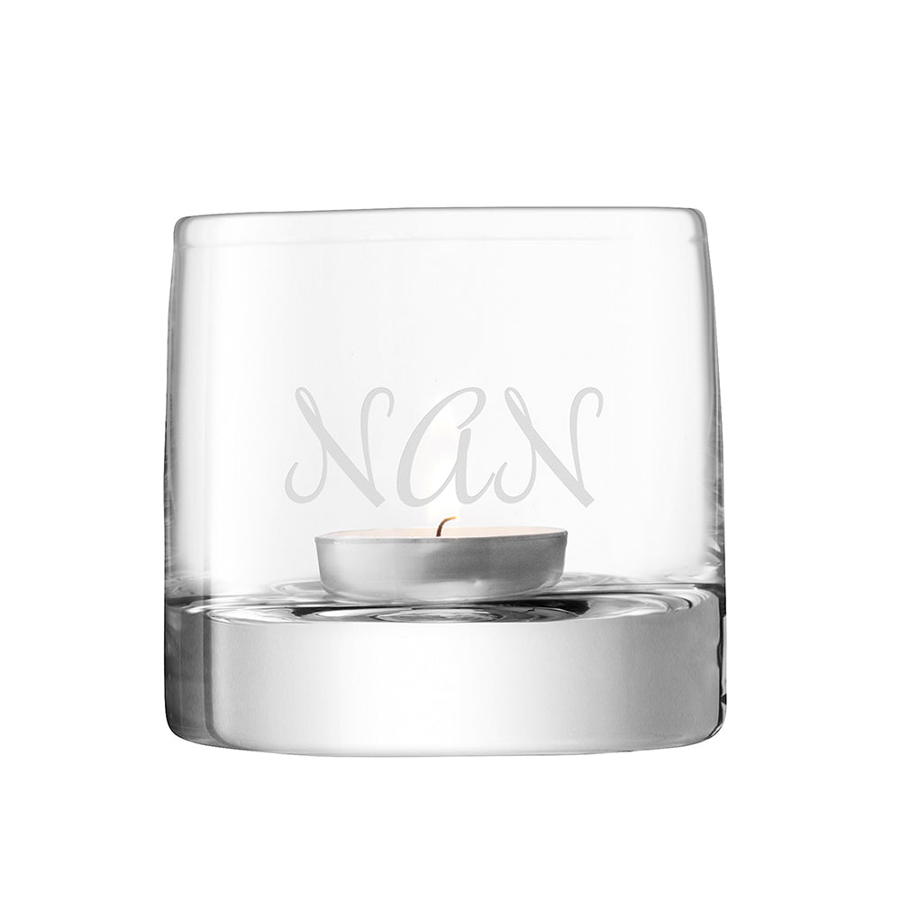 LSA Personalised Light Tealight Holder - treat-republic