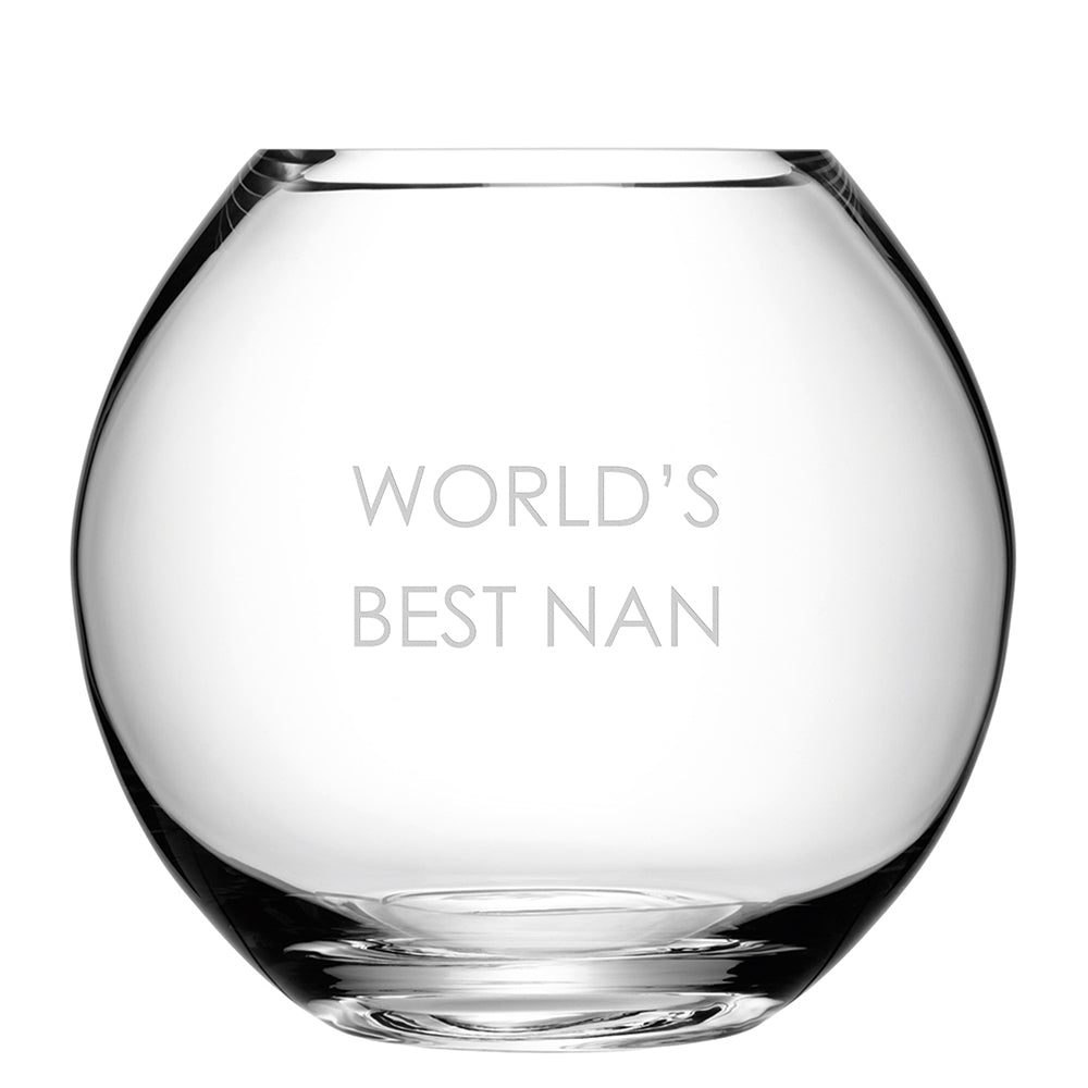 LSA Personalised Round Vase - treat-republic