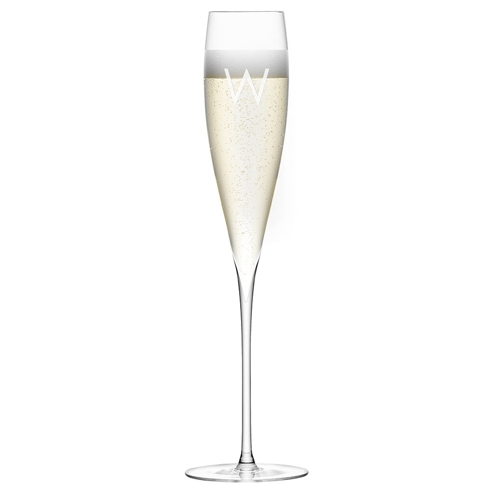 LSA Personalised Savoy Champagne Flutes - treat-republic