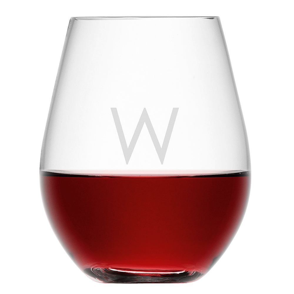 LSA Personalised Stemless Red Wine Glass - treat-republic