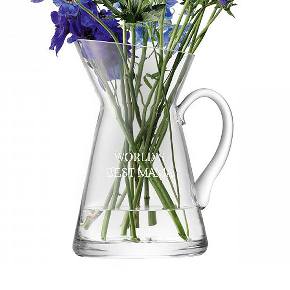 LSA Personalised Jug Flower Vase - treat-republic