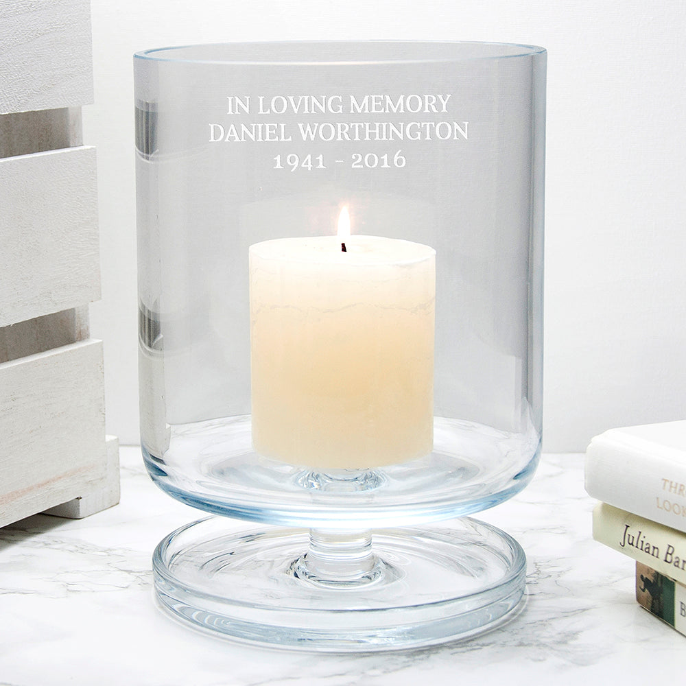 Personalised LSA Storm Lantern Medium - treat-republic