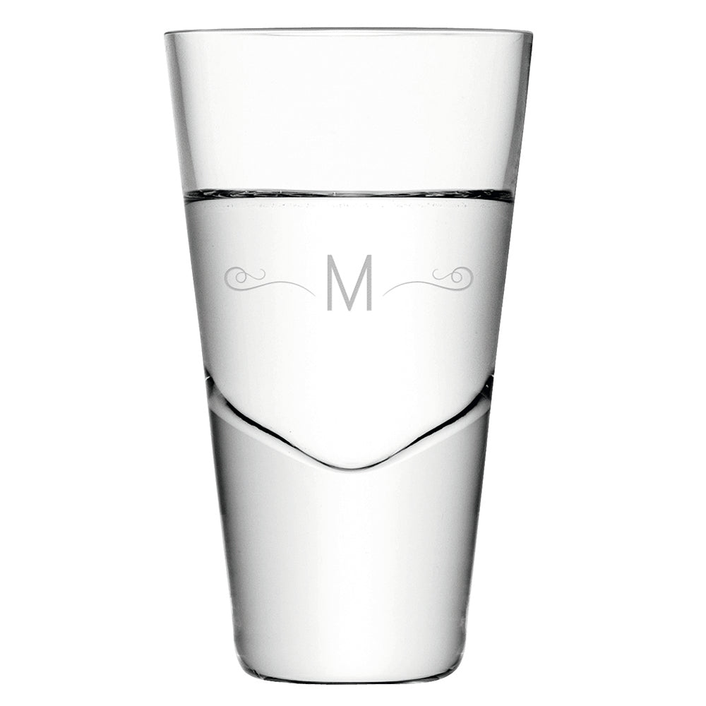 Monogrammed 4 LSA Vodka Shot Glasses Gift Set - treat-republic