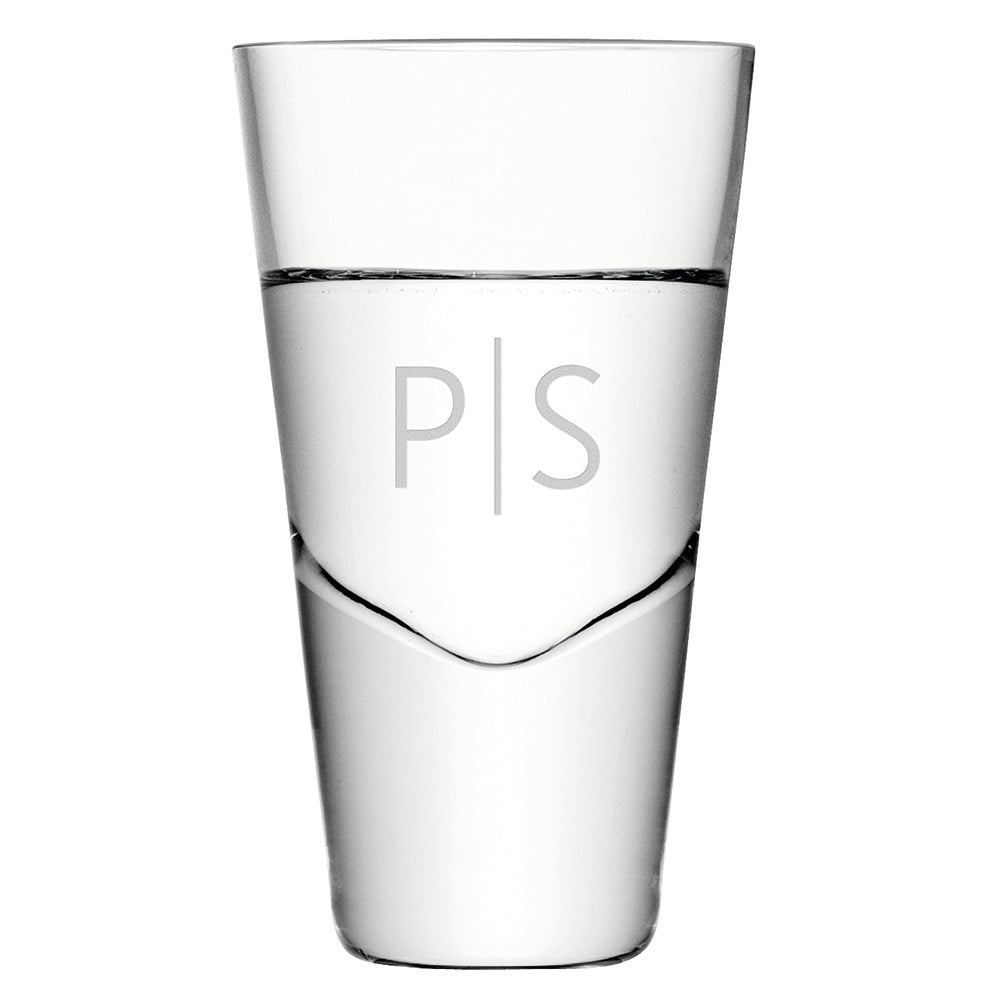 Monogrammed LSA Vodka Shot Glass - treat-republic