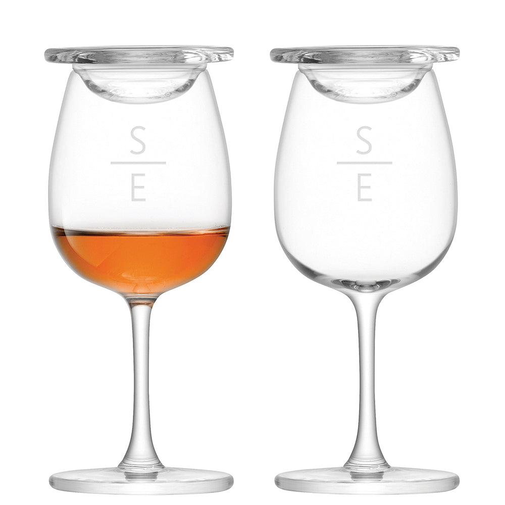 LSA Monogrammed Nosing Glass Set - treat-republic