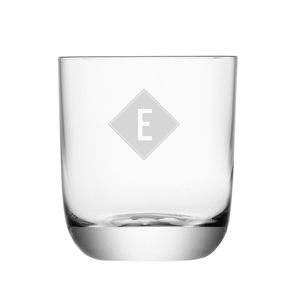 Monogrammed Hamilton Whiskey Tumbler - treat-republic