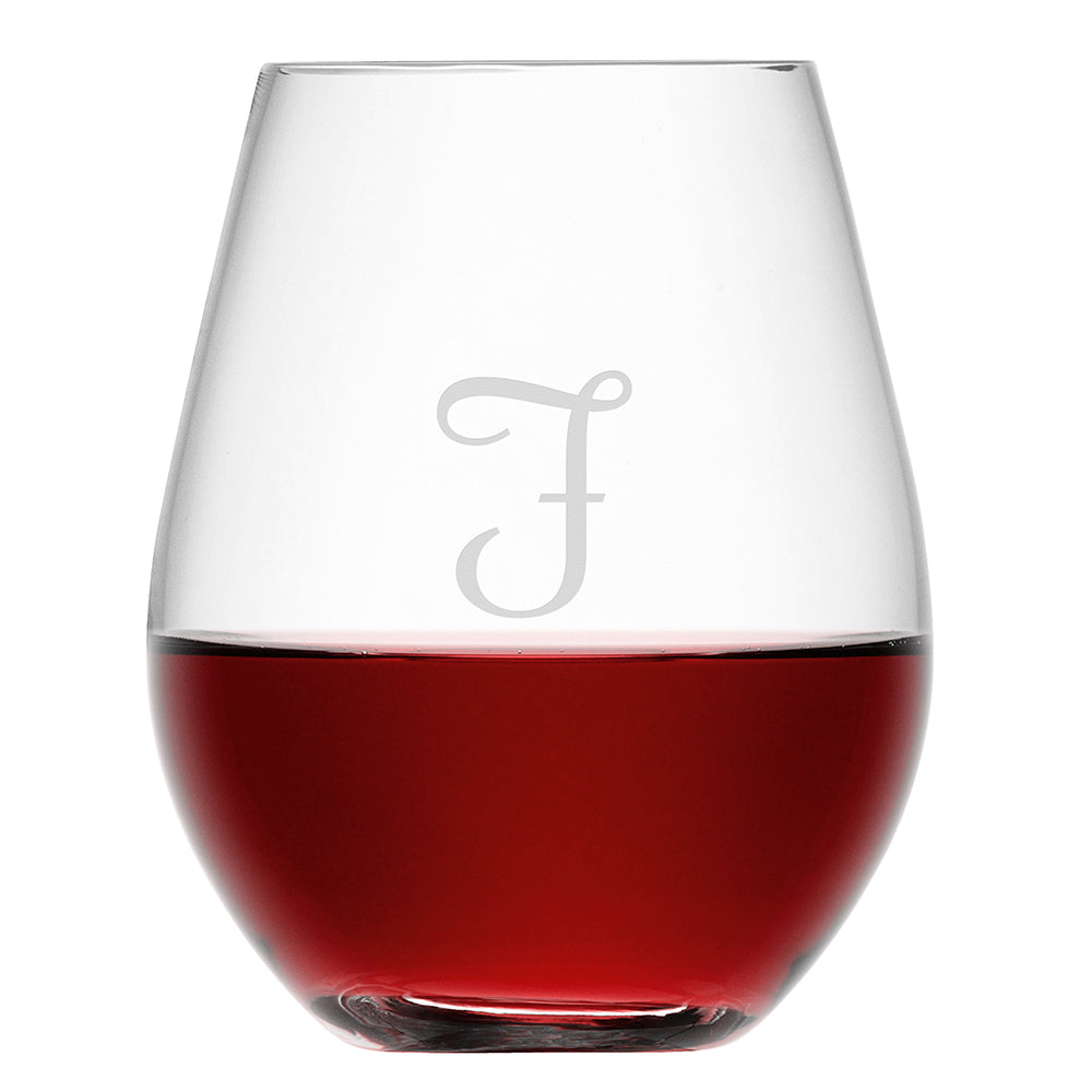 LSA Personalised Stemless Red Wine Glass