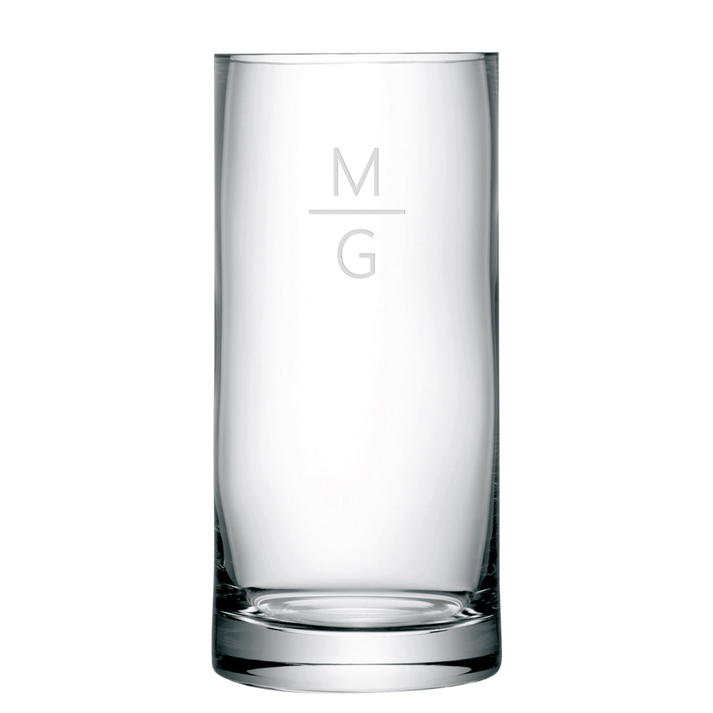 LSA Monogrammed Column Vase - treat-republic