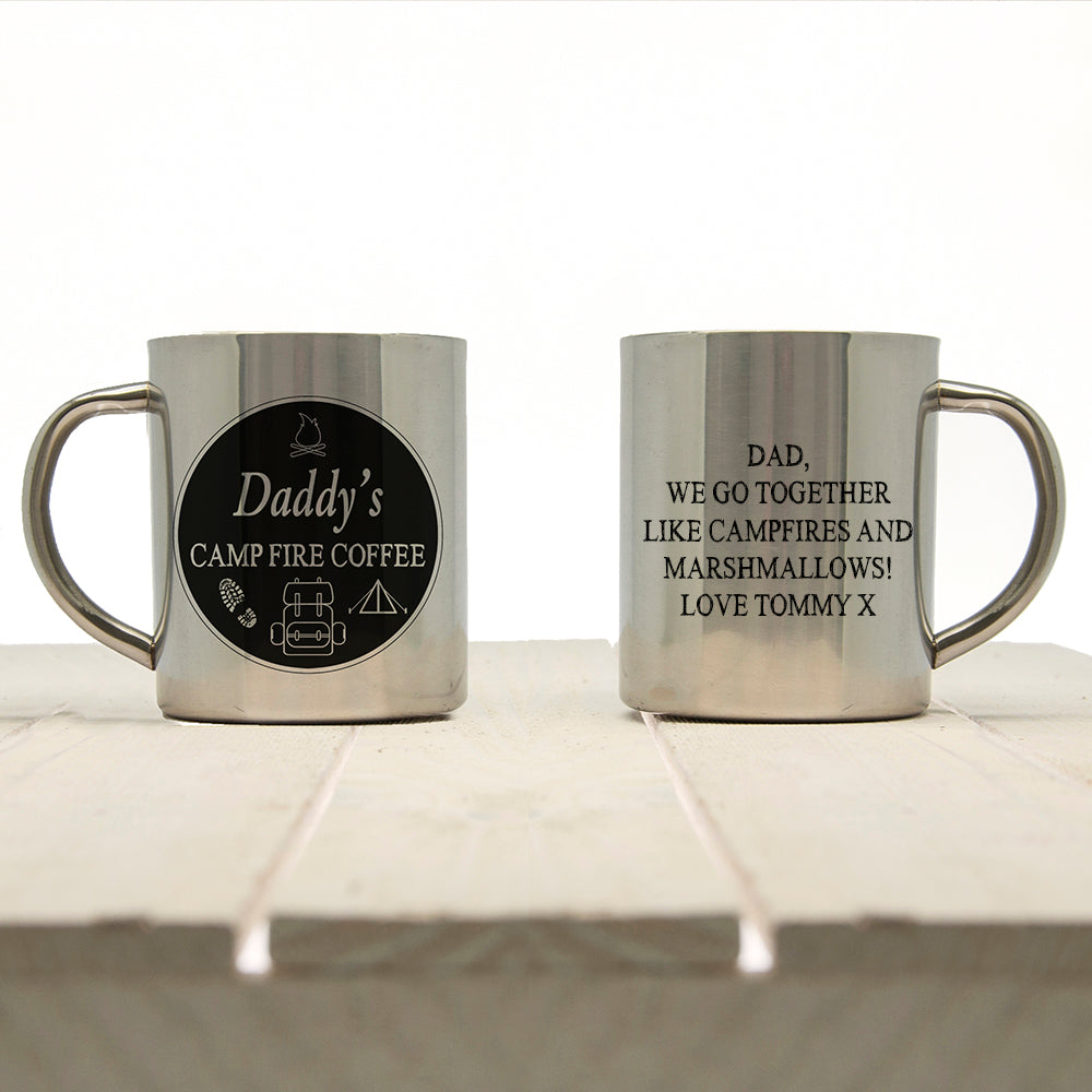 Daddy's Campfire Coffee Outdoor Mug - treat-republic