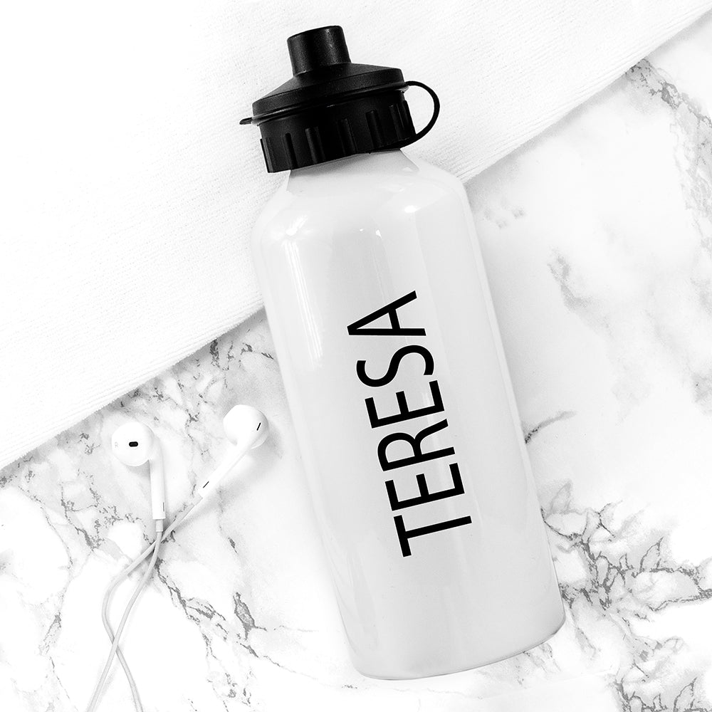 Exercise!? I Thought You Said Extra Fries Personalised Water Bottle - treat-republic