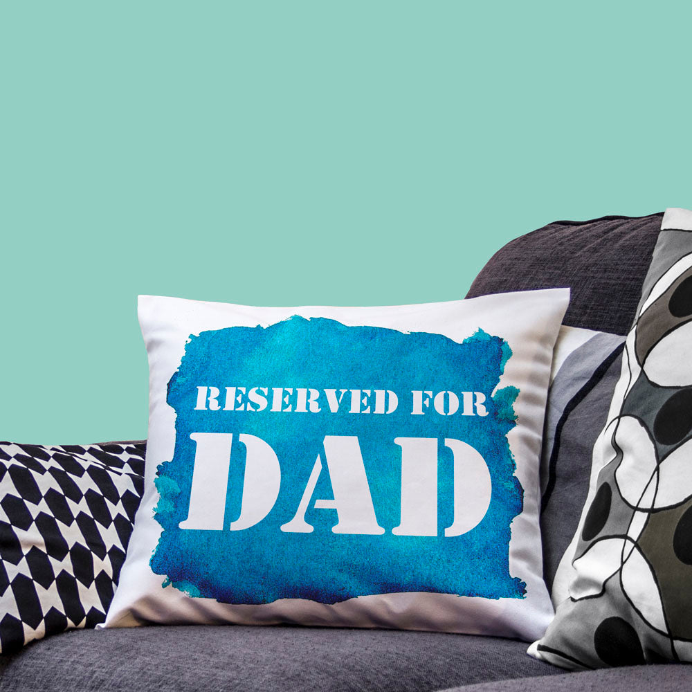 Reserved For... Watercolour Cushion Cover - treat-republic