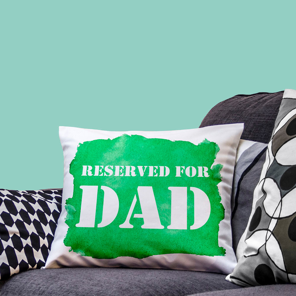 Reserved For... Watercolour Cushion Cover