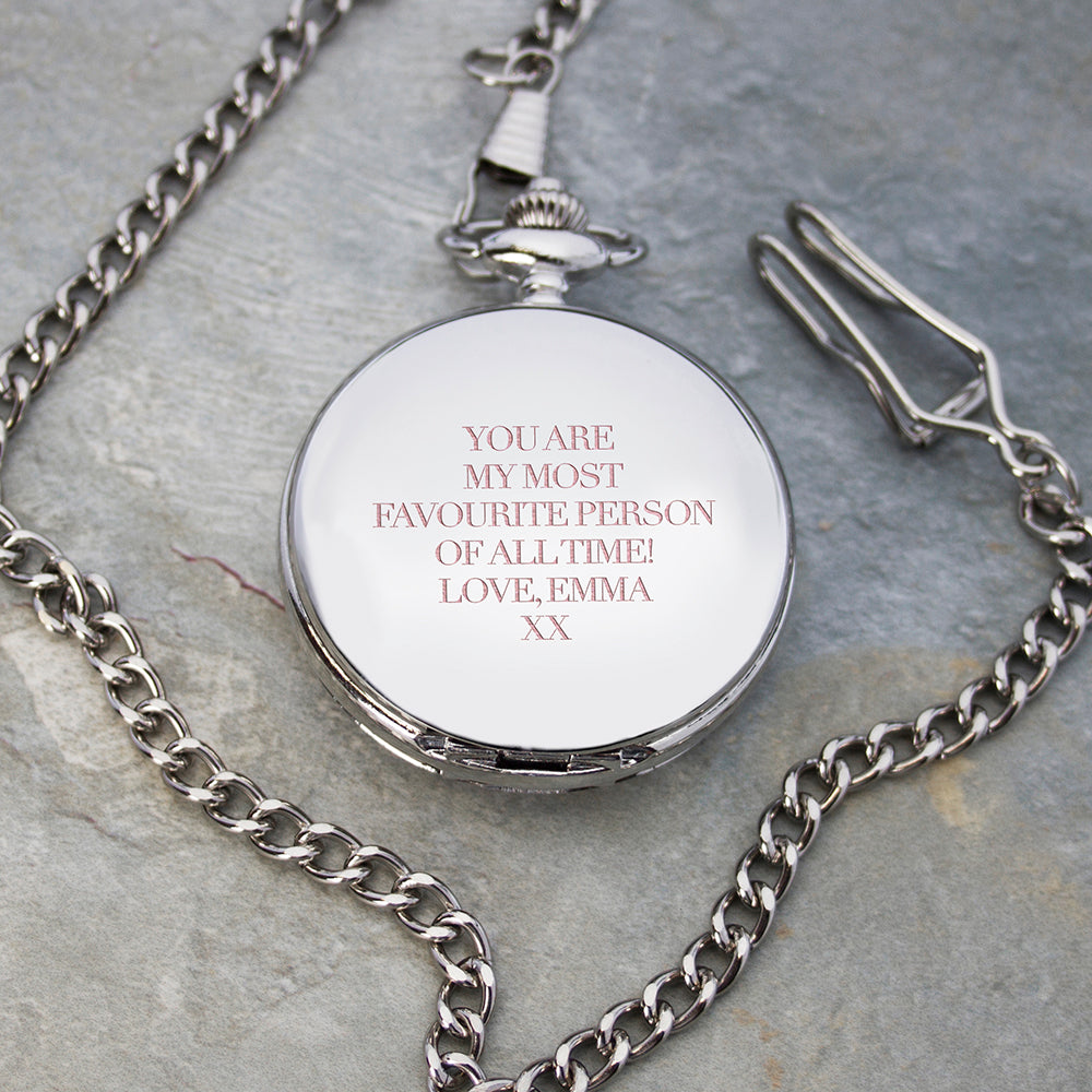 Personalised Heritage Pocket Watch - treat-republic
