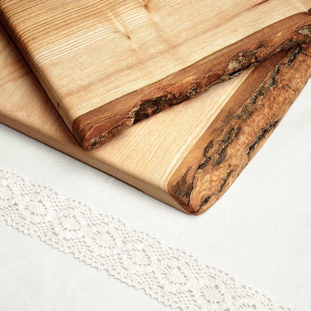 Personalised Welsh Ash Christmas Serving Board - treat-republic