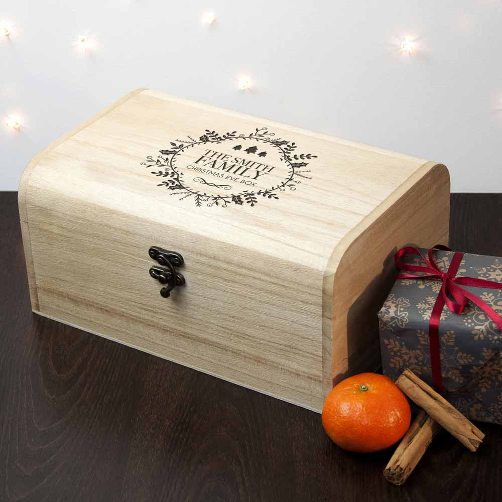 Personalised Traditional Family Christmas Eve Chest - treat-republic