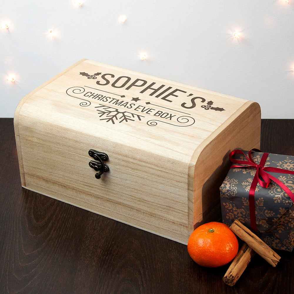 Personalised Christmas Eve Chest - treat-republic