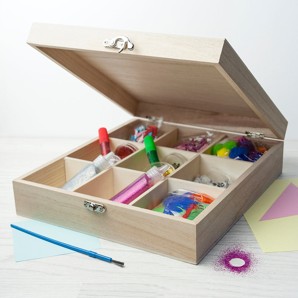 Personalised Boy's Craft Box