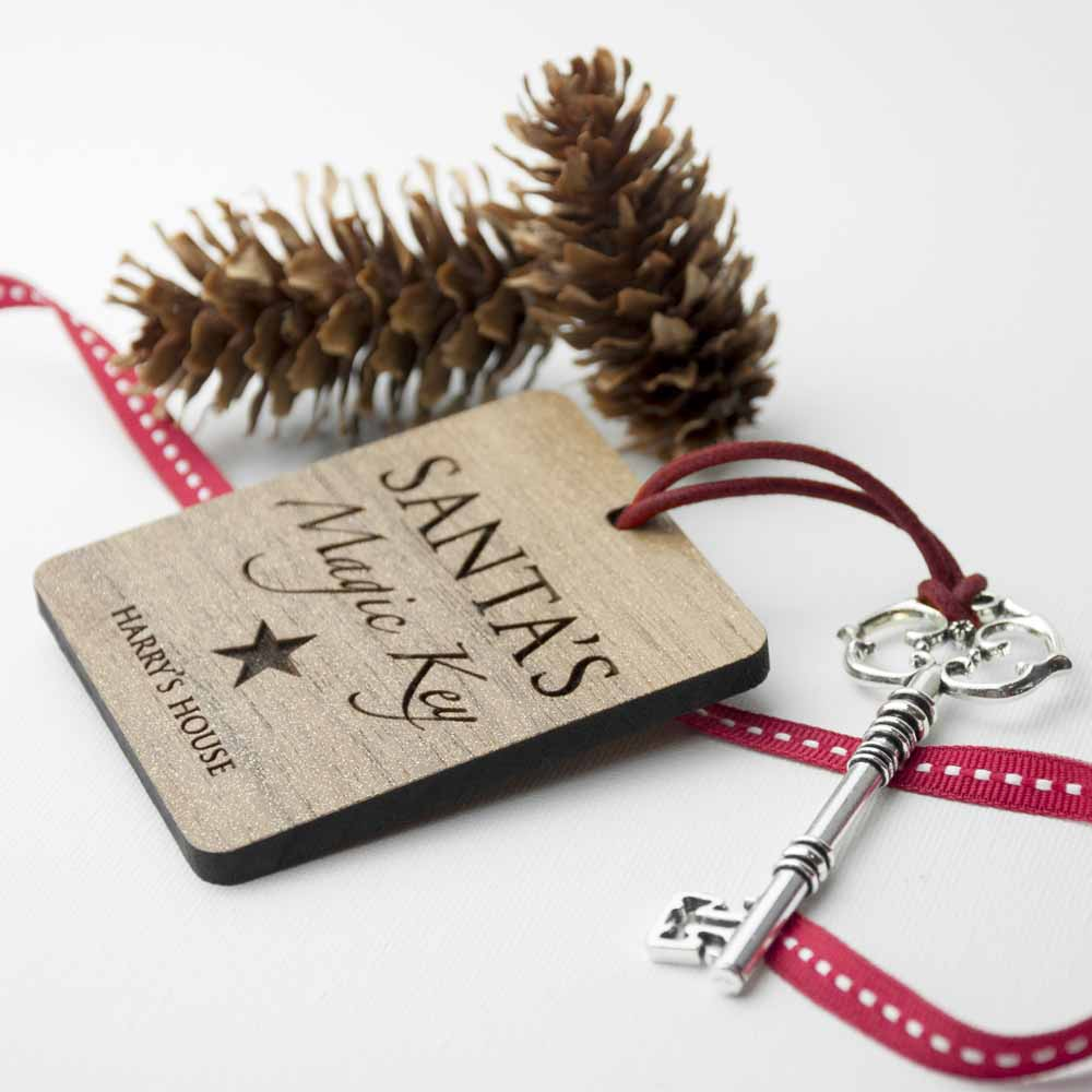 Personalised Santa's Magic Key - treat-republic