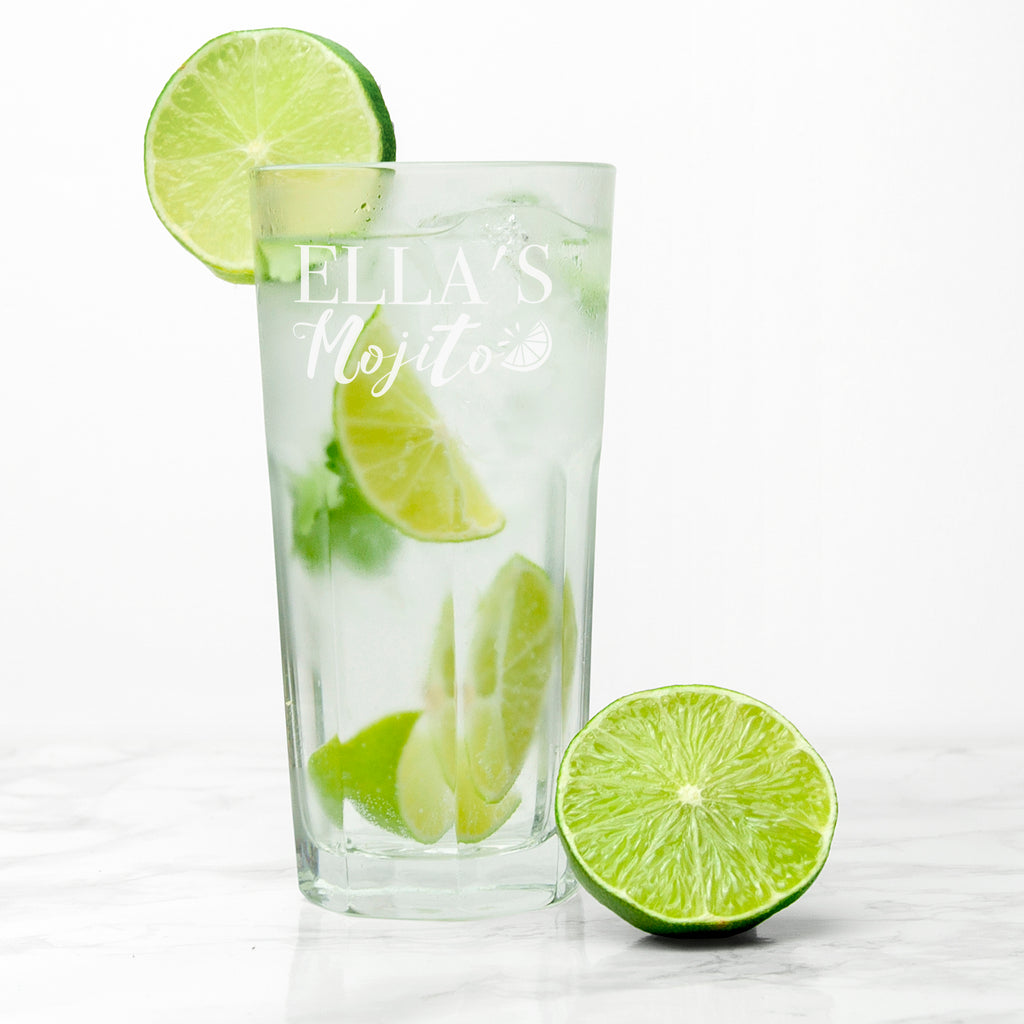 Personalised Mojito Glass - treat-republic