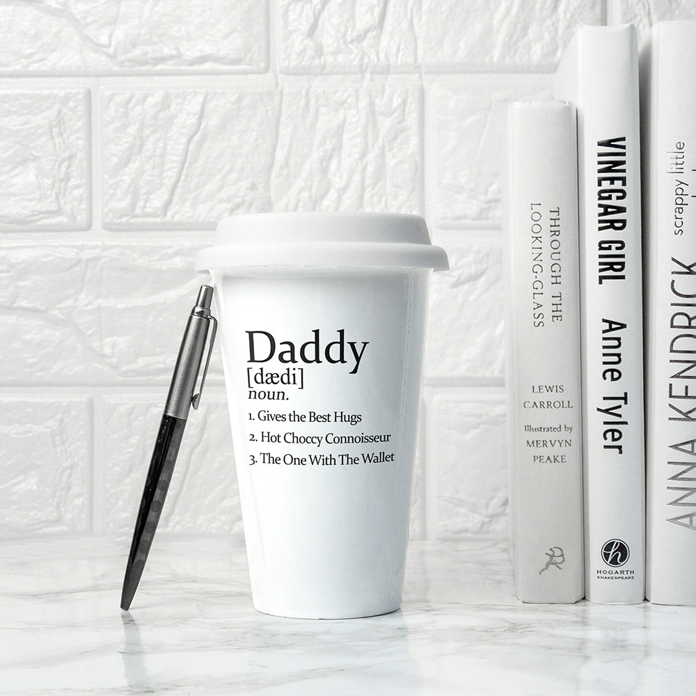 Personalised Definition Ceramic Eco Cup