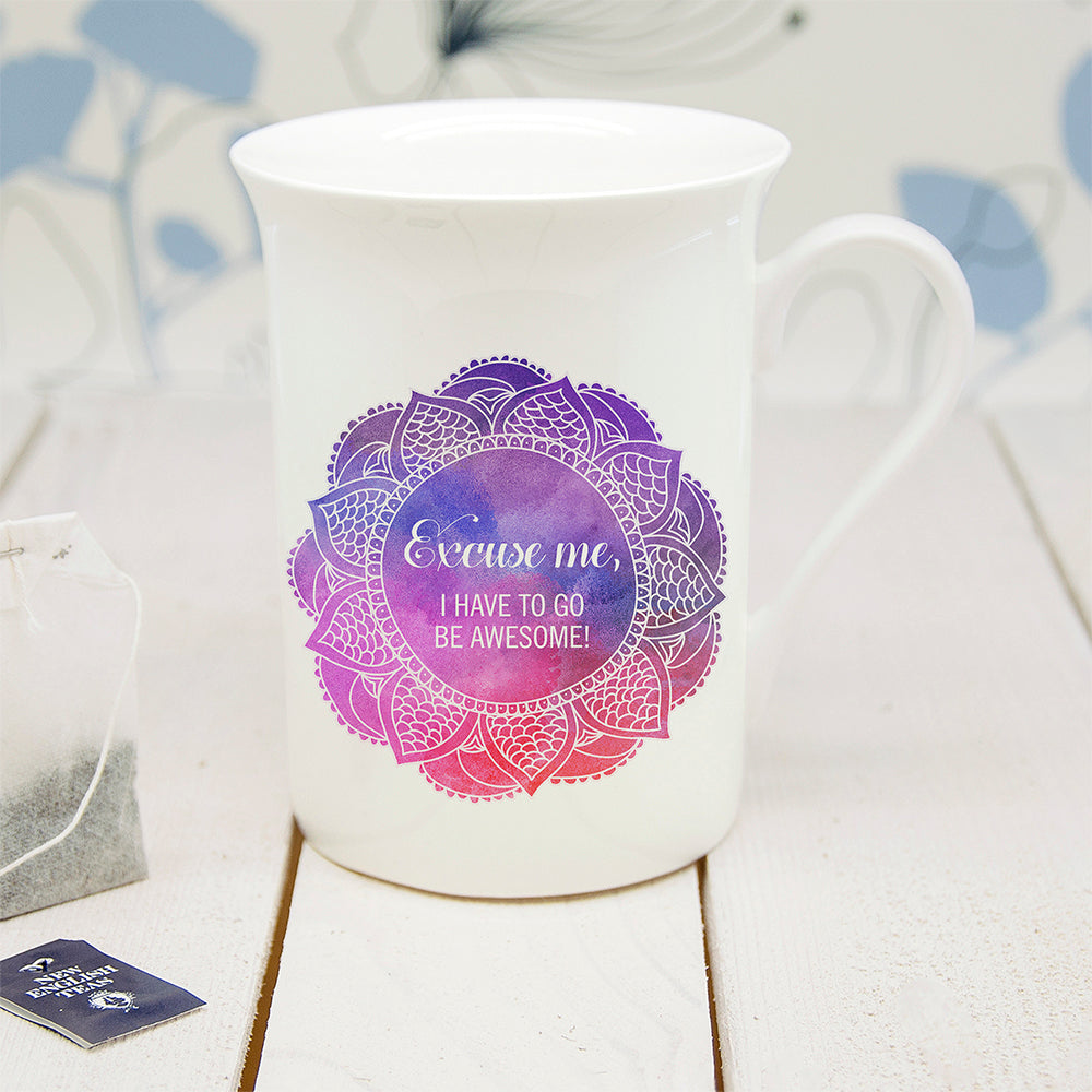 Personalised Spirited Bone China Mug - treat-republic