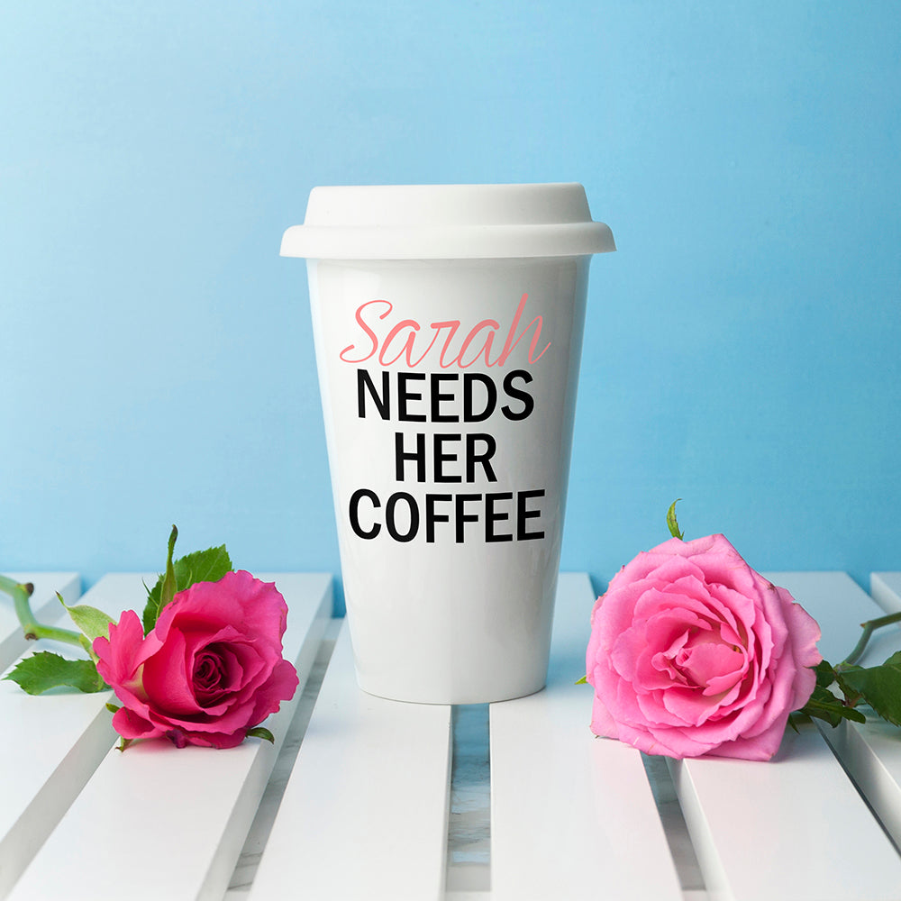 Personalised Mama's Got Needs Travel Mug - treat-republic