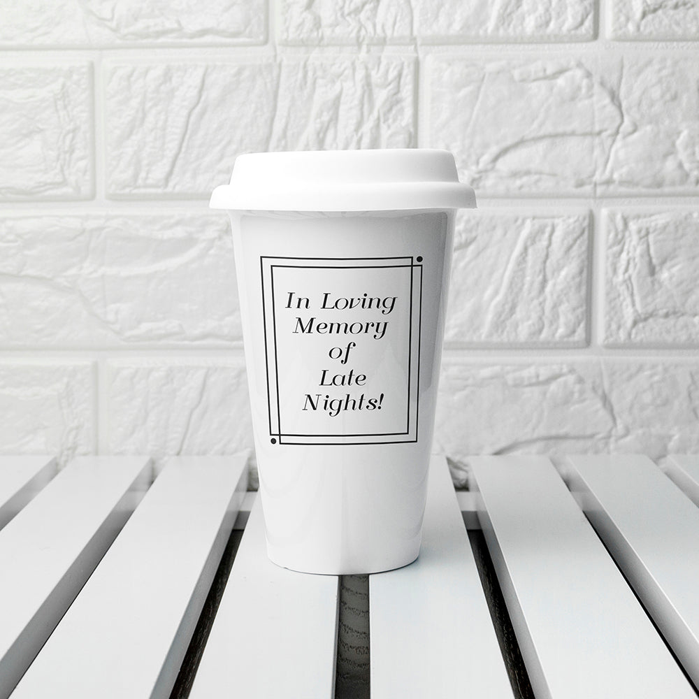 Personalised Loving Memory Travel Mug - treat-republic