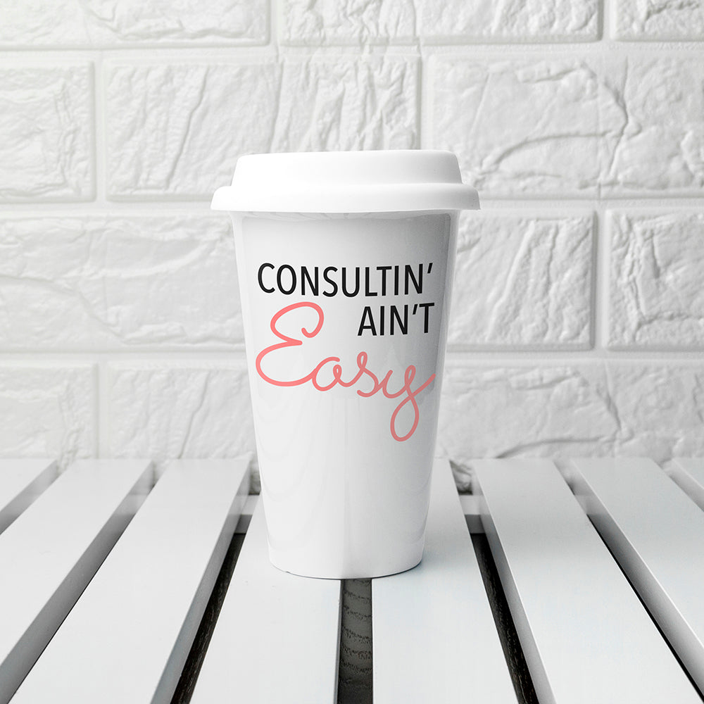 Personalised It Ain't Easy Travel Mug - treat-republic