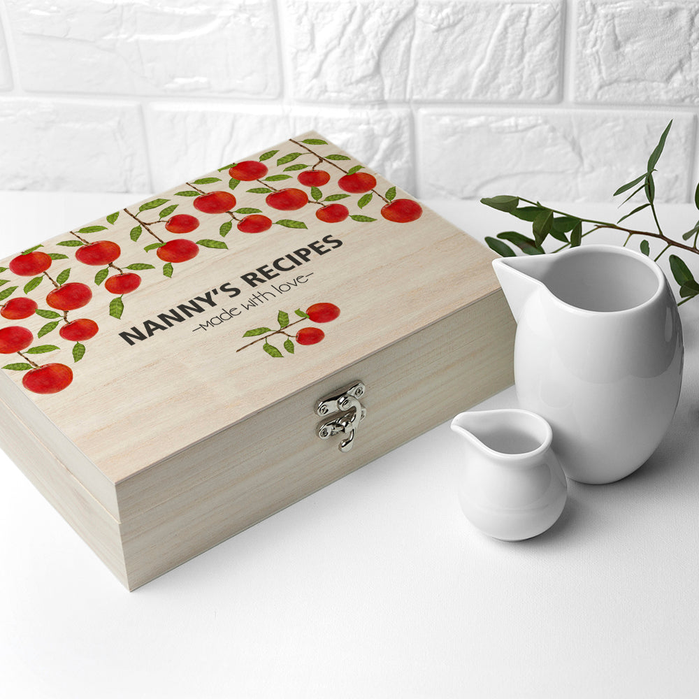Personalised Orchard Recipe Box - treat-republic