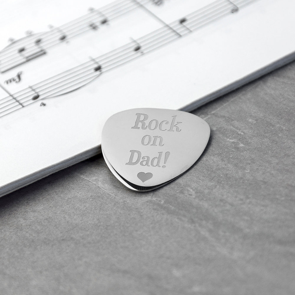 Personalised Dad's Plectrum
