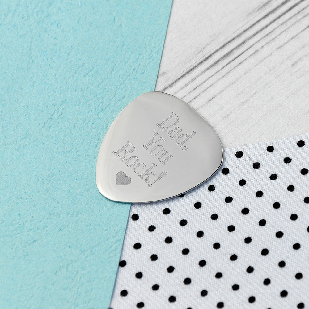 Personalised Dad's Plectrum - treat-republic