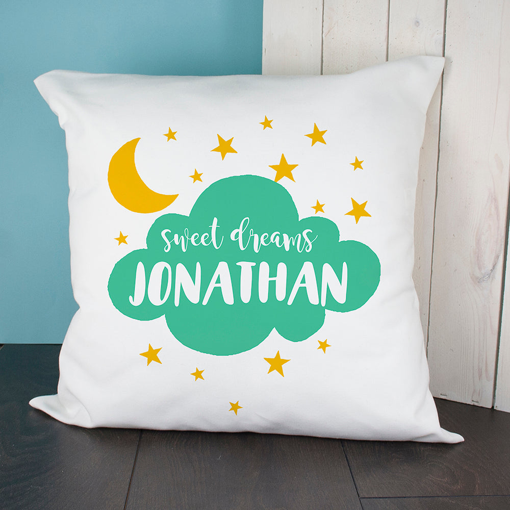 Personalised Sweet Dreams Cushion Cover