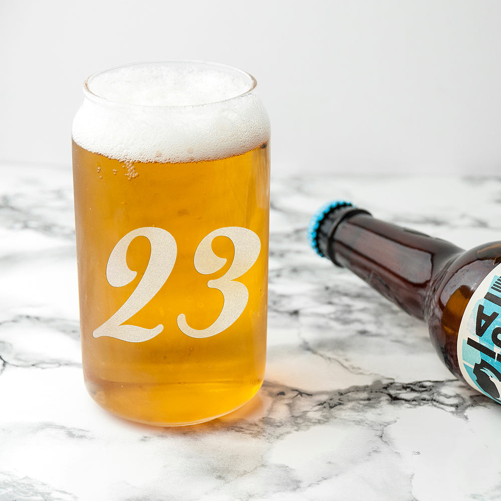 Personalised Birthday Can Glass - treat-republic