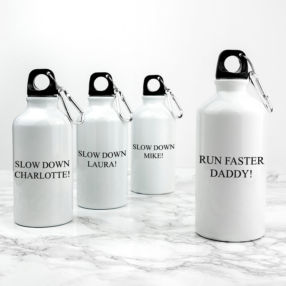 Personalised Daddy & Me Water Bottles - treat-republic