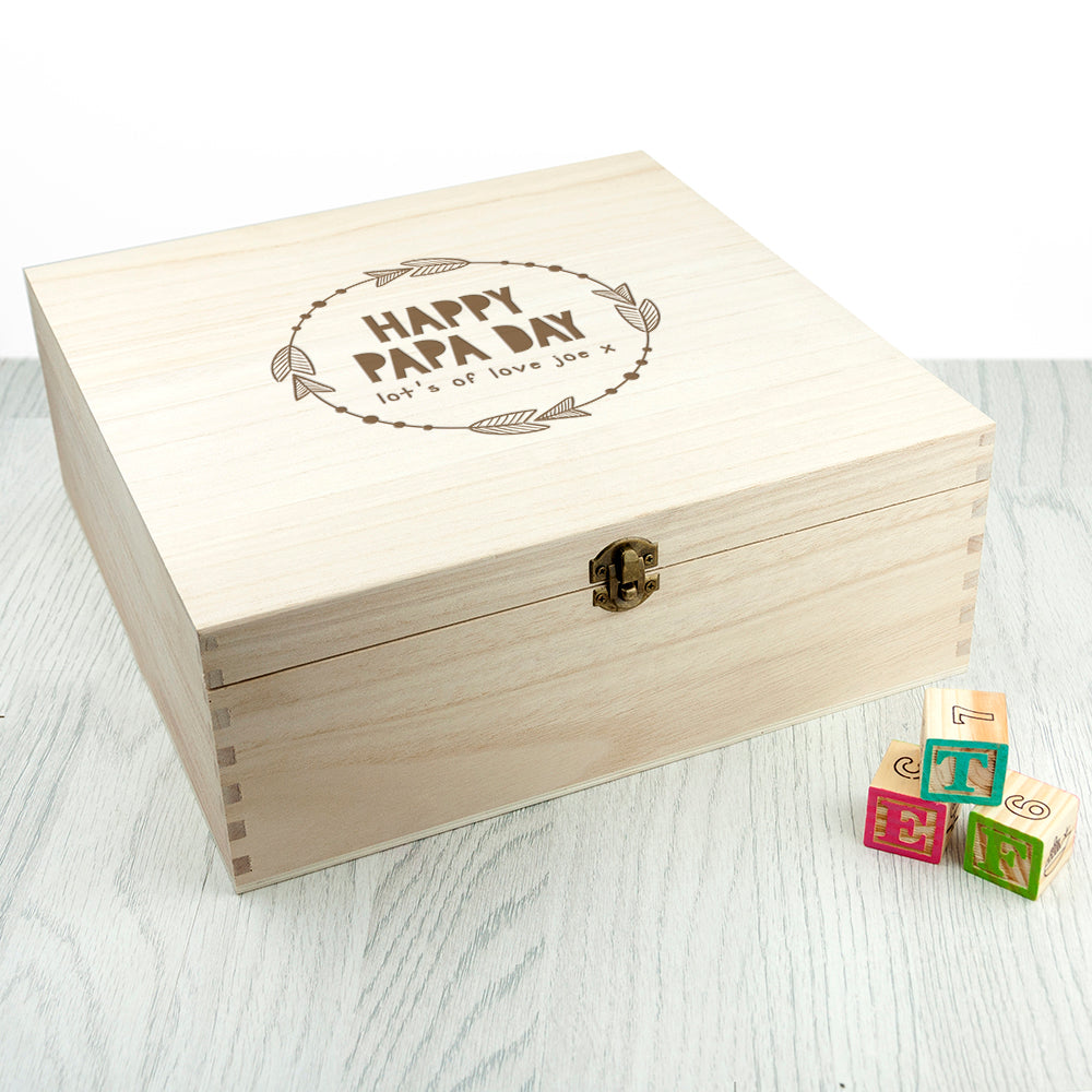 Personalised It's Your Day Box - treat-republic