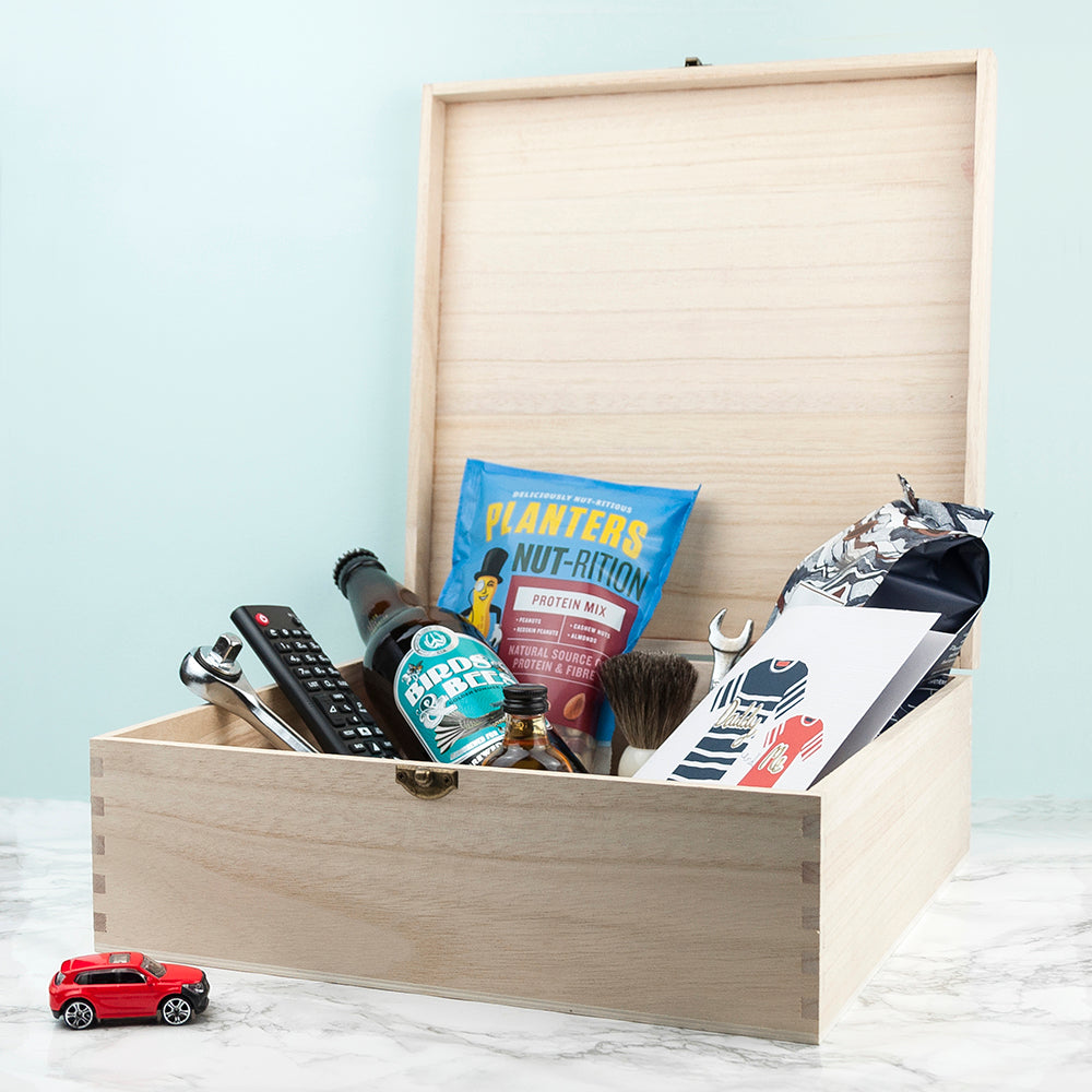 Personalised New Dad Survival Kit Storage Box - treat-republic