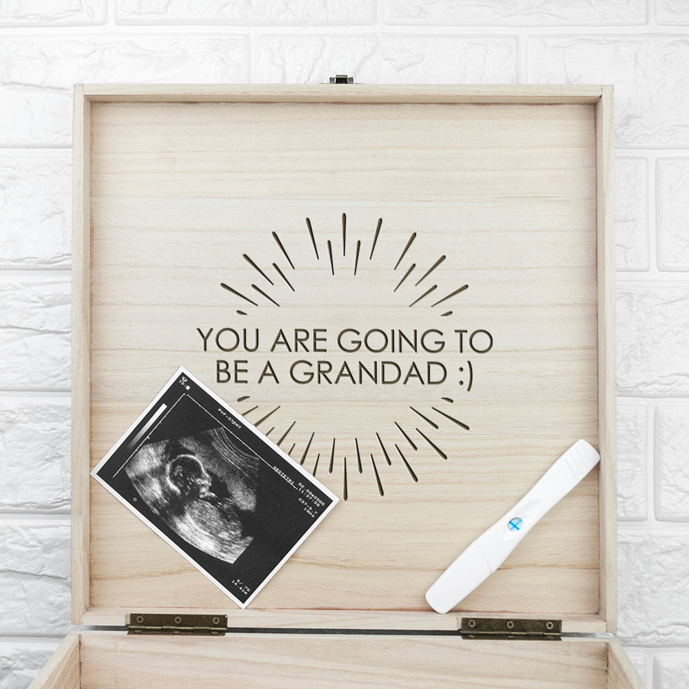 Personalised Surprise Announcement Box - treat-republic