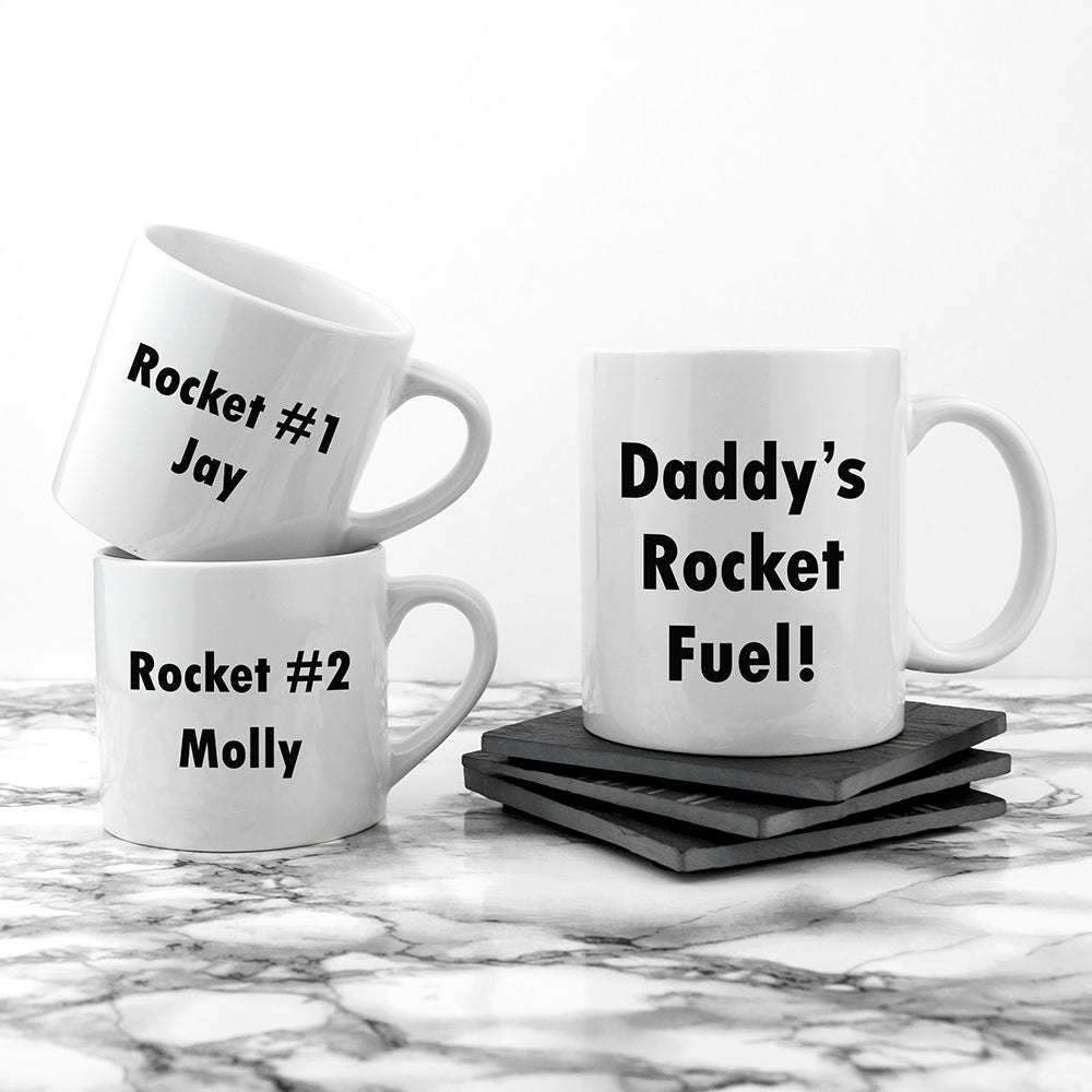 Personalised Daddy & Me Tea Time Mugs - treat-republic