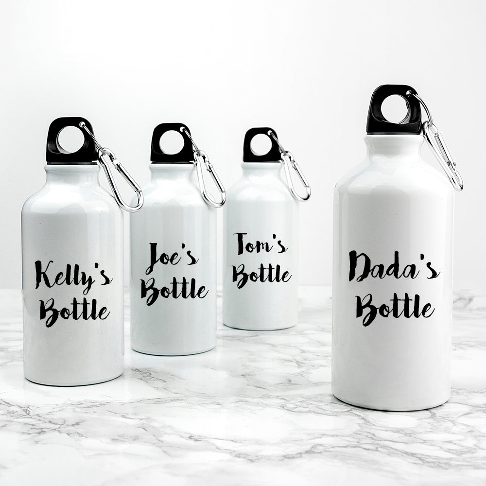 Personalised Daddy & Me Sports Water Bottles - treat-republic