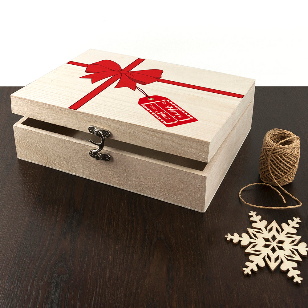 Personalised All Wrapped Up Christmas Eve Box - treat-republic