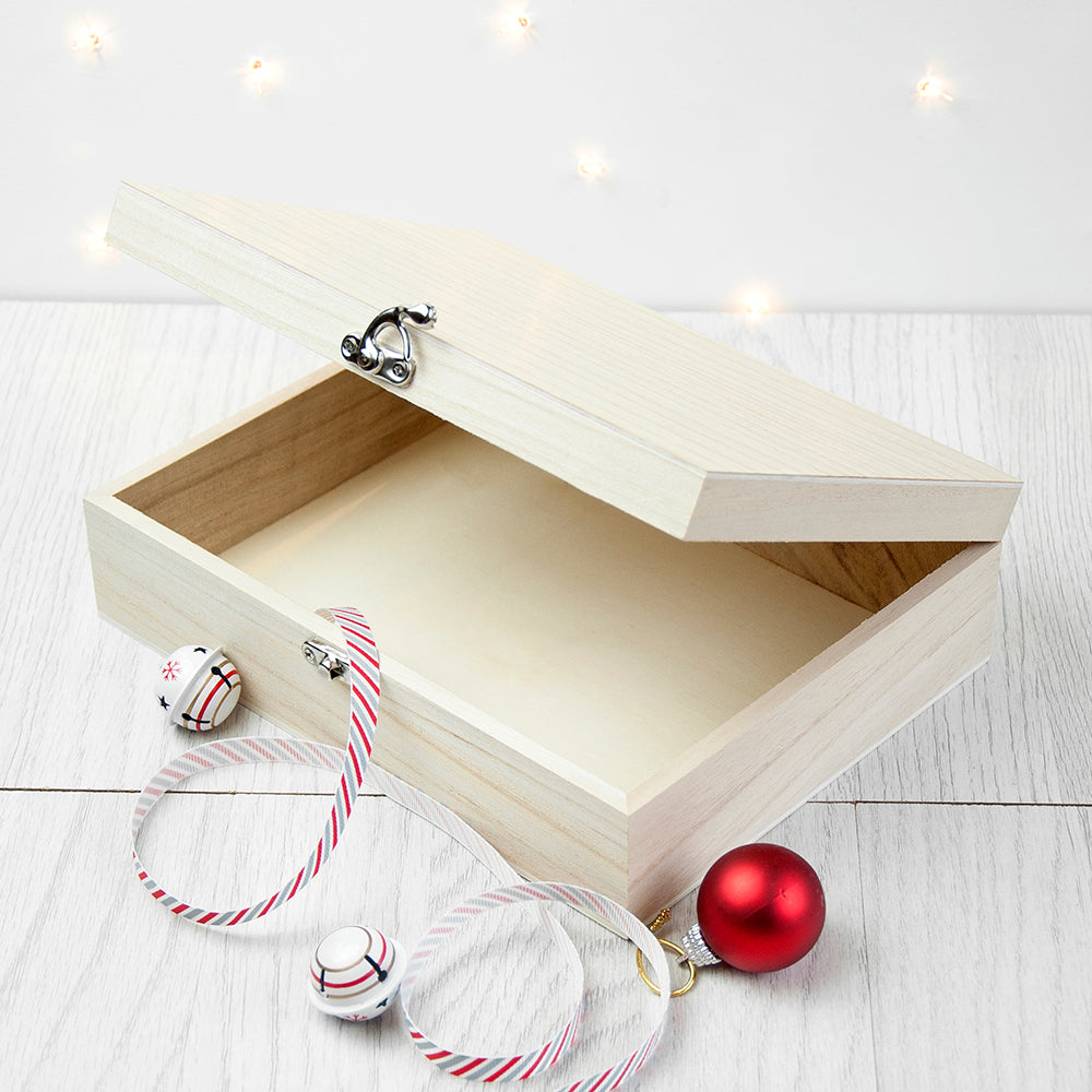 Personalised Jolly Holly Christmas Eve Box - treat-republic