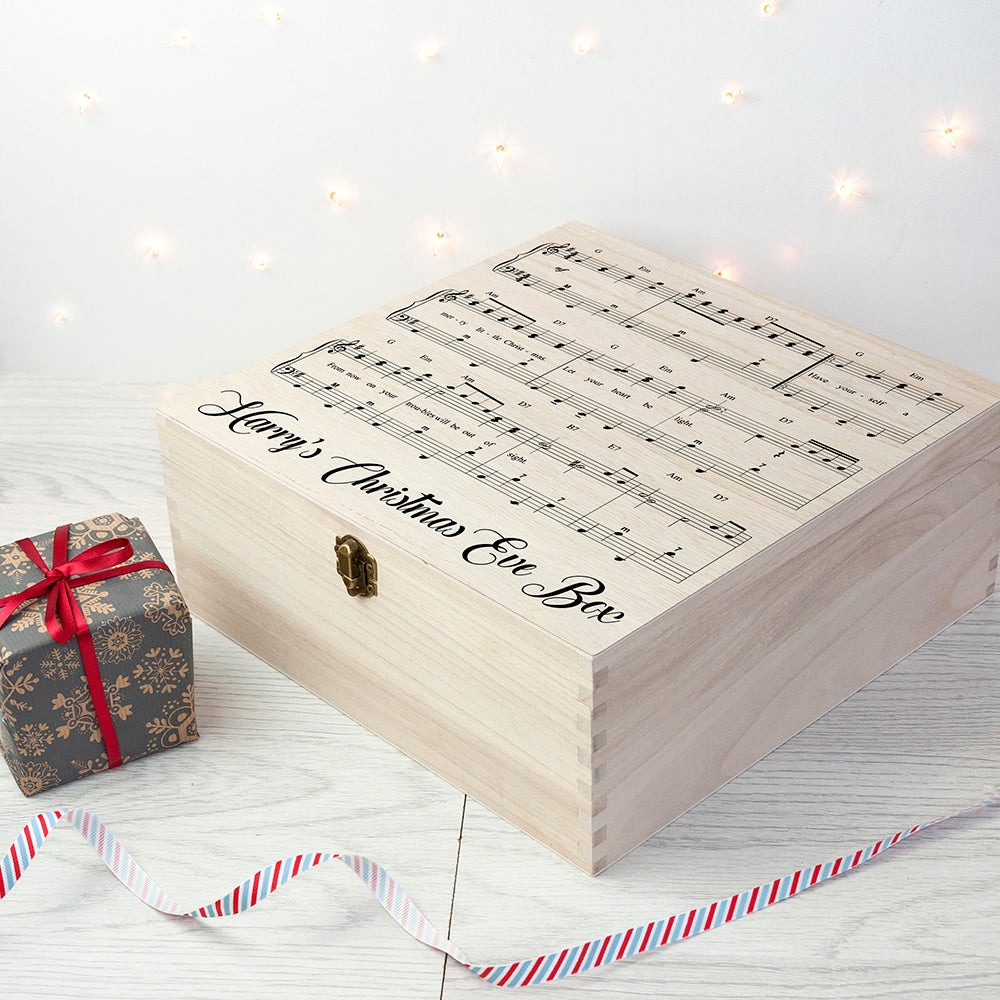 Personalised Have Yourself A Very Merry Christmas Eve Box - treat-republic