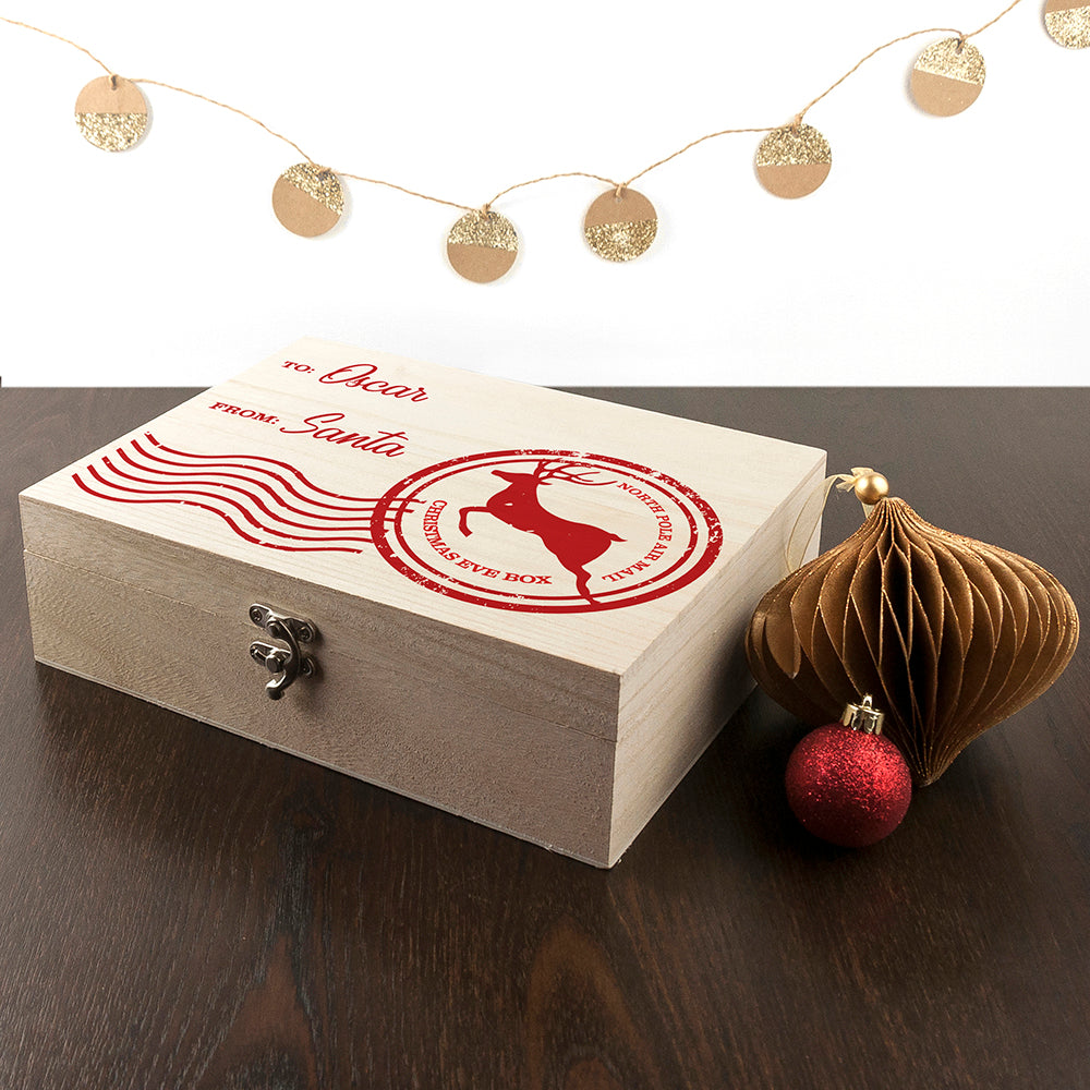 Personalised North Pole Special Delivery Christmas Eve Box - treat-republic