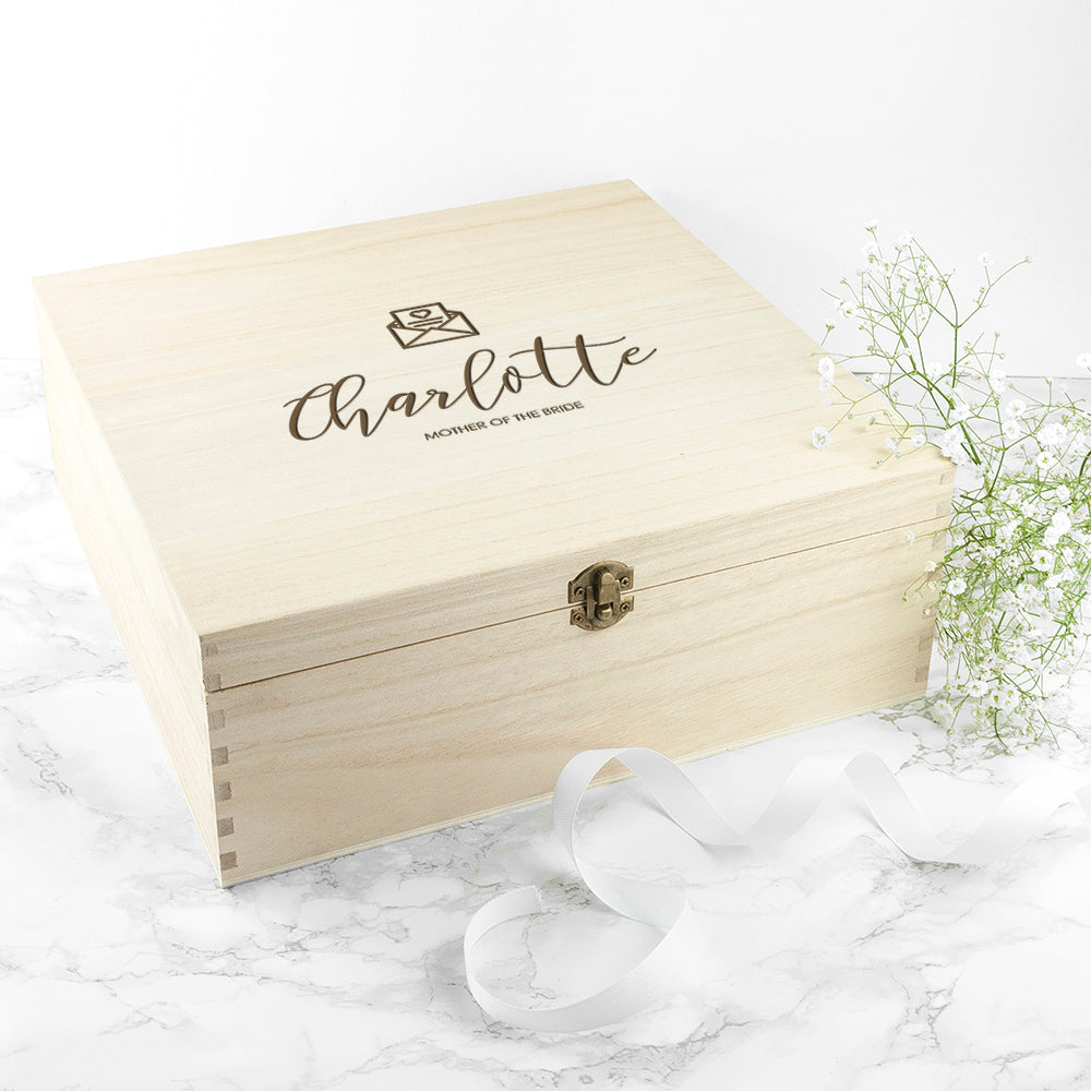 Personalised Elegant Wedding Box - treat-republic