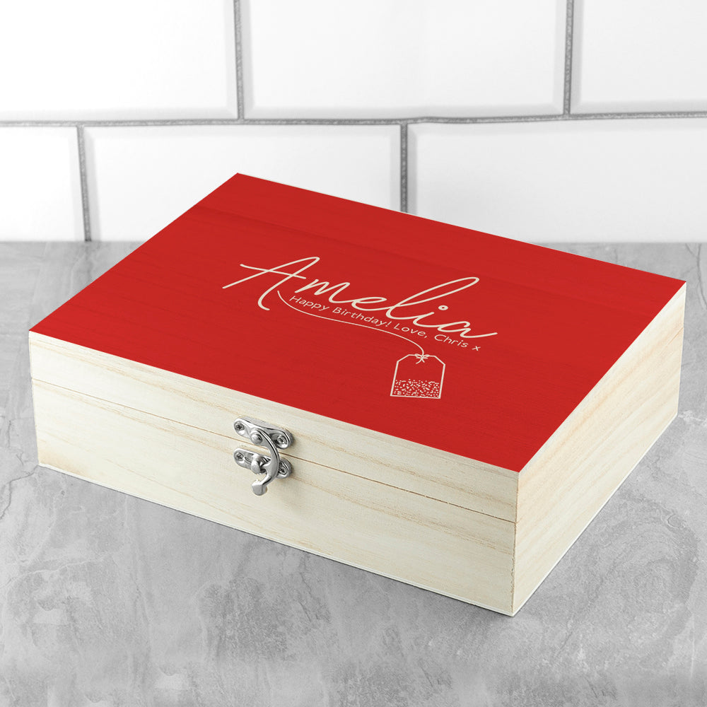 Personalised The Ultimate Cu-Tea Box - treat-republic