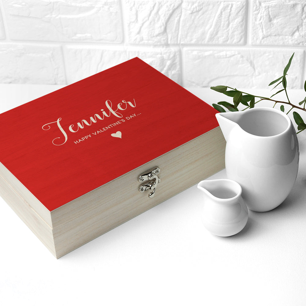 Personalised 'You Are My Cup of Tea' Tea Box - treat-republic