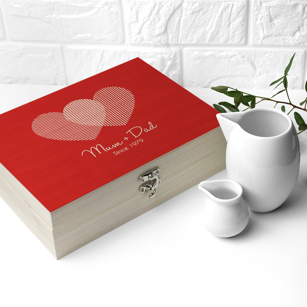 Personalised Venn Diagram Tea Box - treat-republic