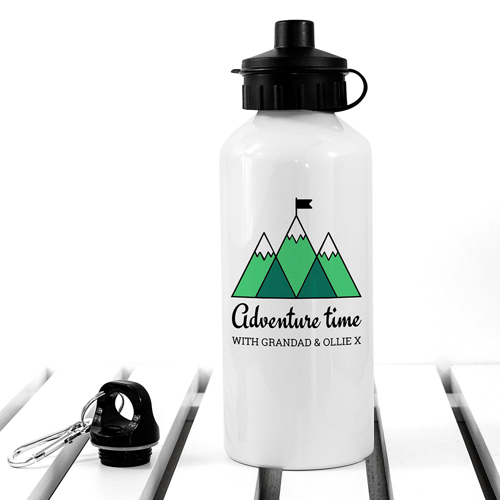 Personalised Adventure Time White Water Bottle - treat-republic